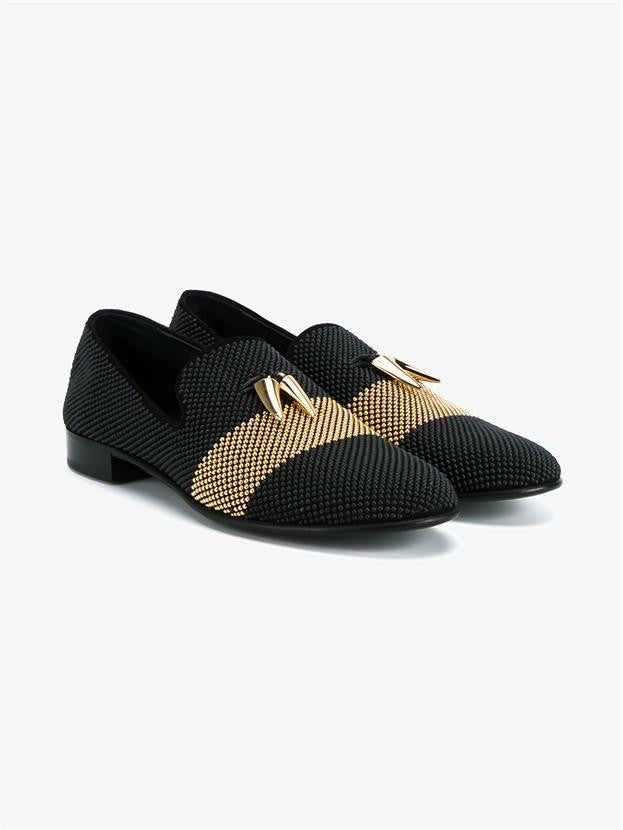Giuseppe Zanotti Studded Leather Loafers