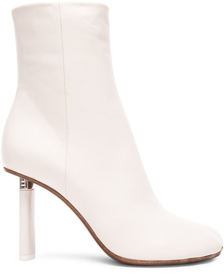 Forward By Elyse Walker VETEMENTS Leather Ankle Boots