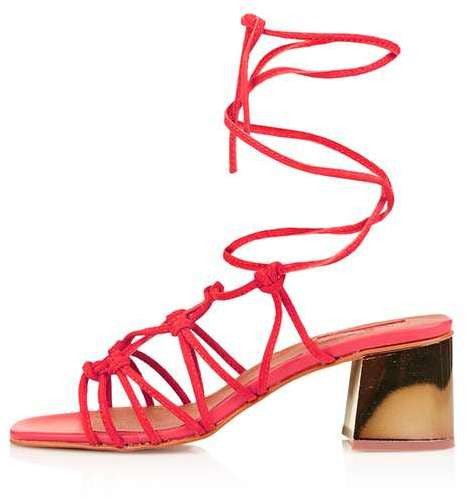 Topshop Napoli knotted sandals