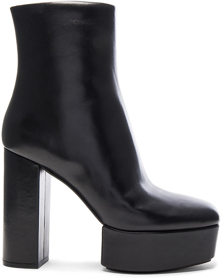 Alexander Wang Leather Cora Booties