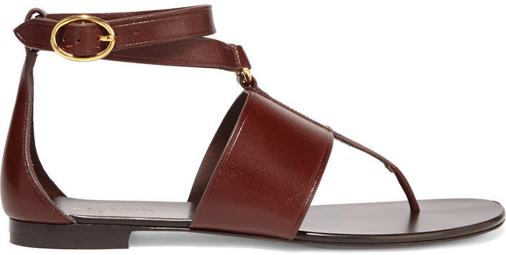 NET-A-PORTER.COM Michael Kors Collection Candice Leather Sandals