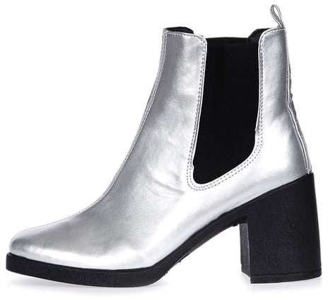 Topshop Barnaby heeled chelsea boots