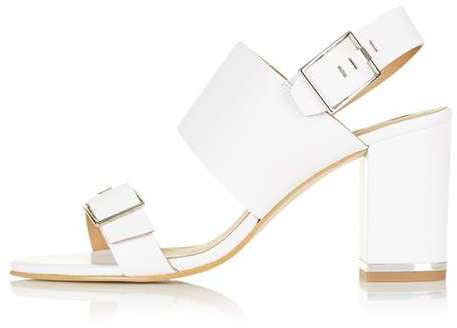 Topshop Natalia double buckle sandals