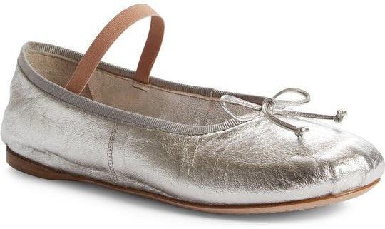 Miu Miu Lace-Up Ballet Flat