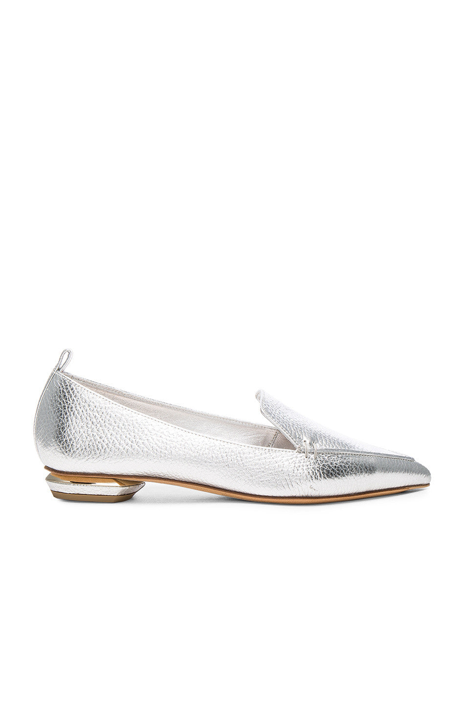 Nicholas Kirkwood Leather Beya Loafers