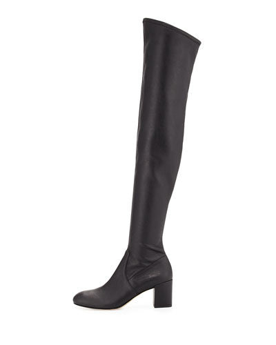 Rebecca Minkoff Lauren Leather Over-the-Knee Boot, Black