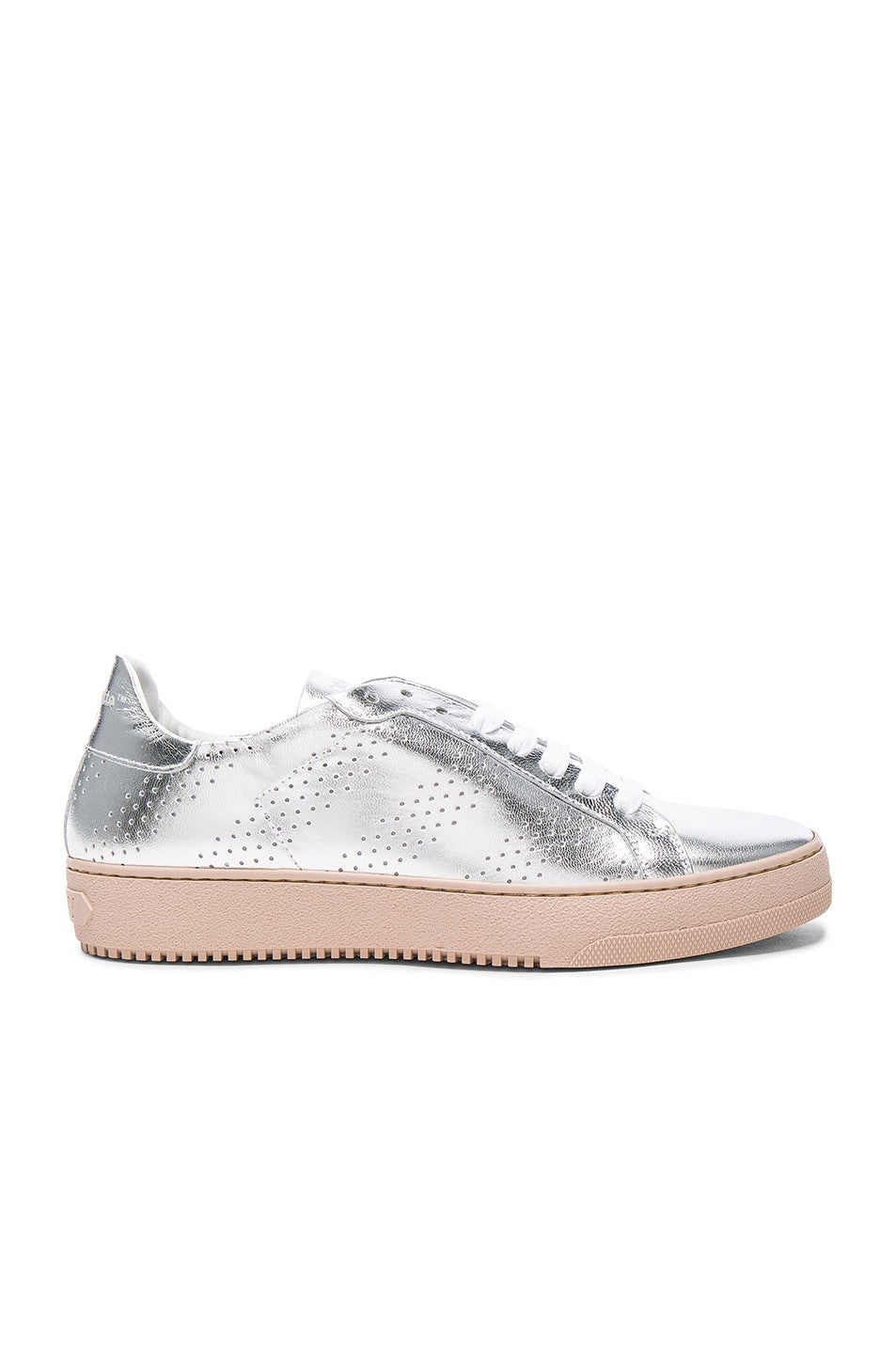OFF-WHITE Perforated Leather Sneakers