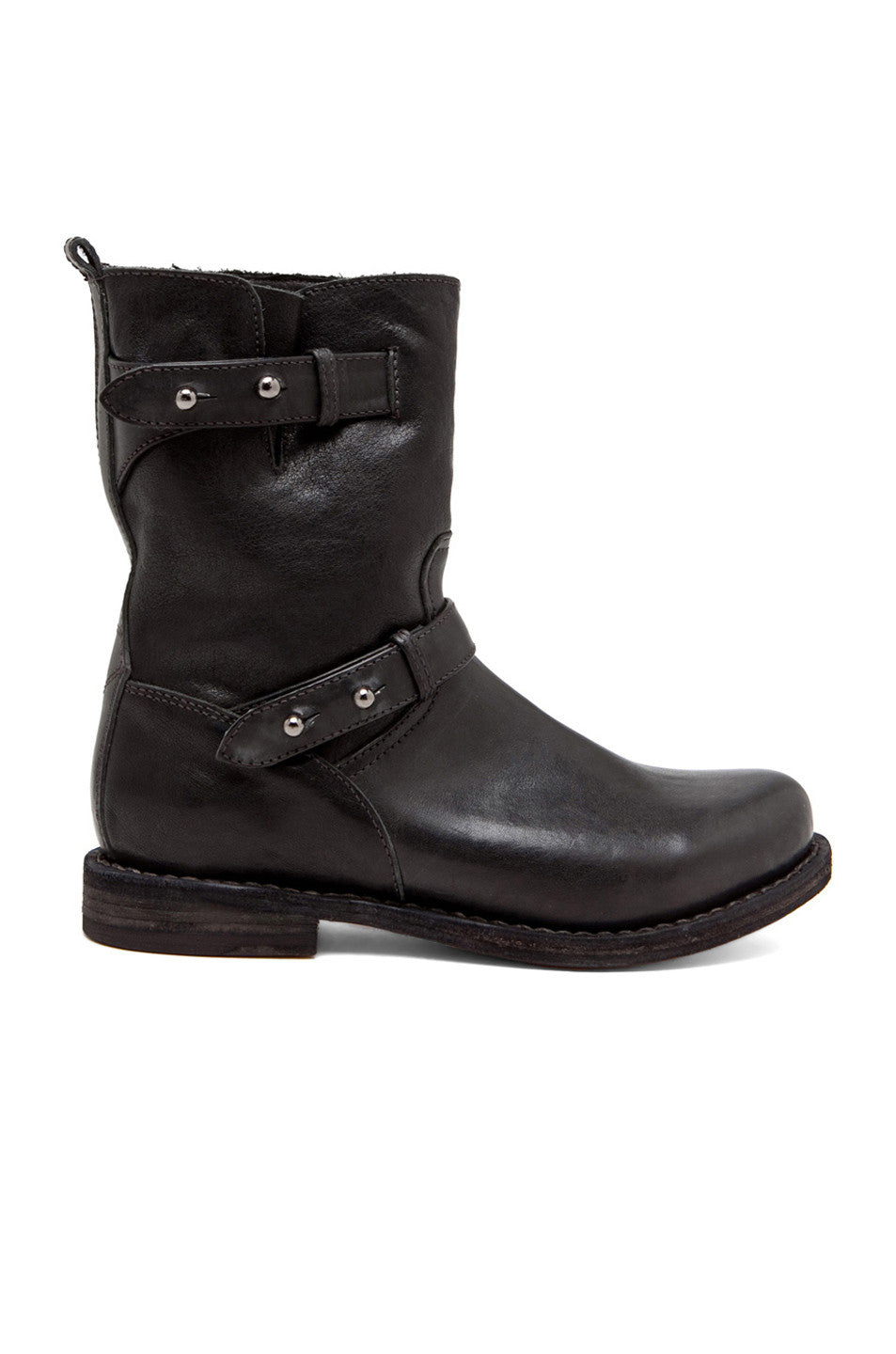 Rag & Bone Leather Moto Boots