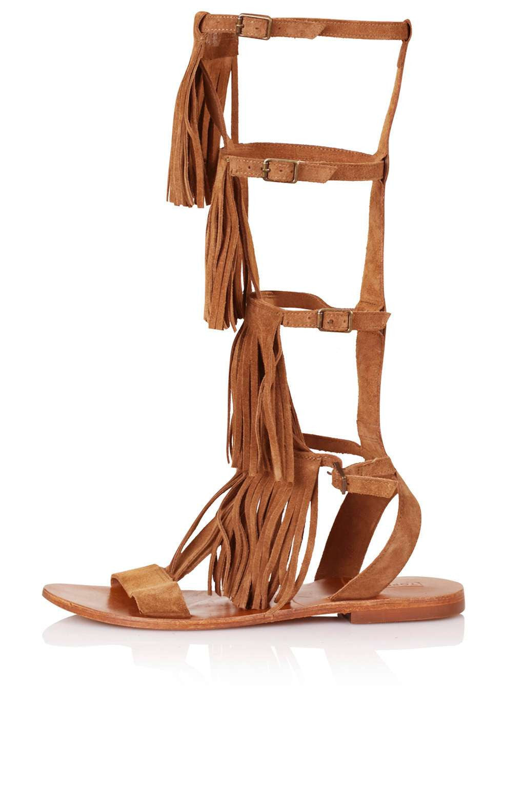TopShop FAIRFAX Gladiator Fringe Sandals