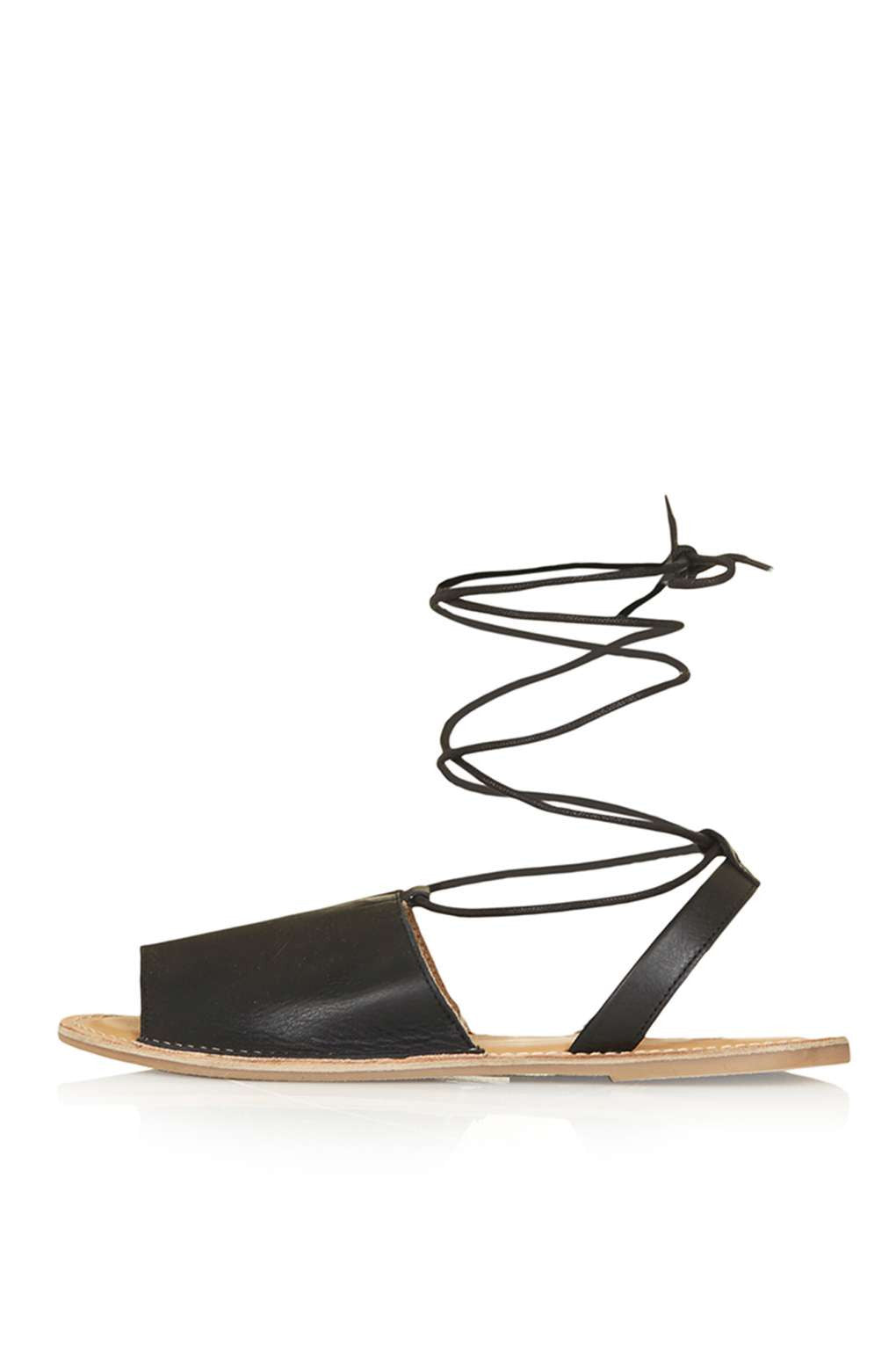 TopShop Holly Ankle Tie Sandals