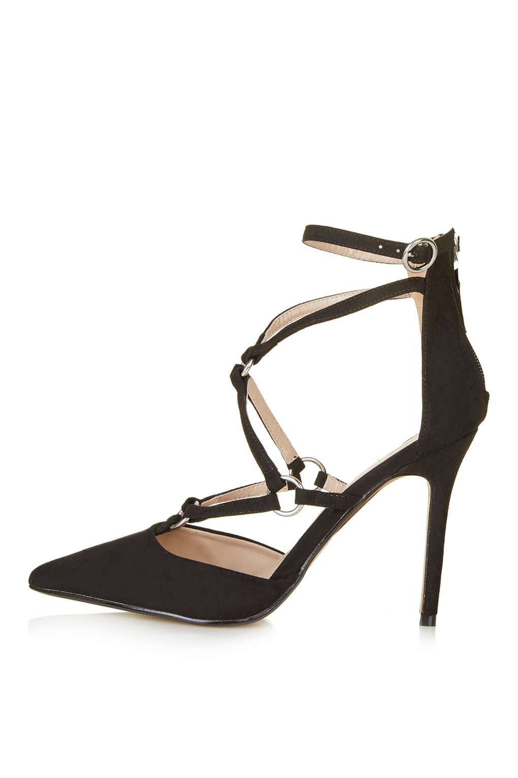 TopShop MARA Ring Strap Court Shoes