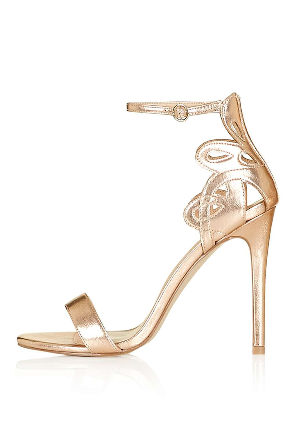 TopShop MINDY Cut-Out Detailed Two-Part Sandal