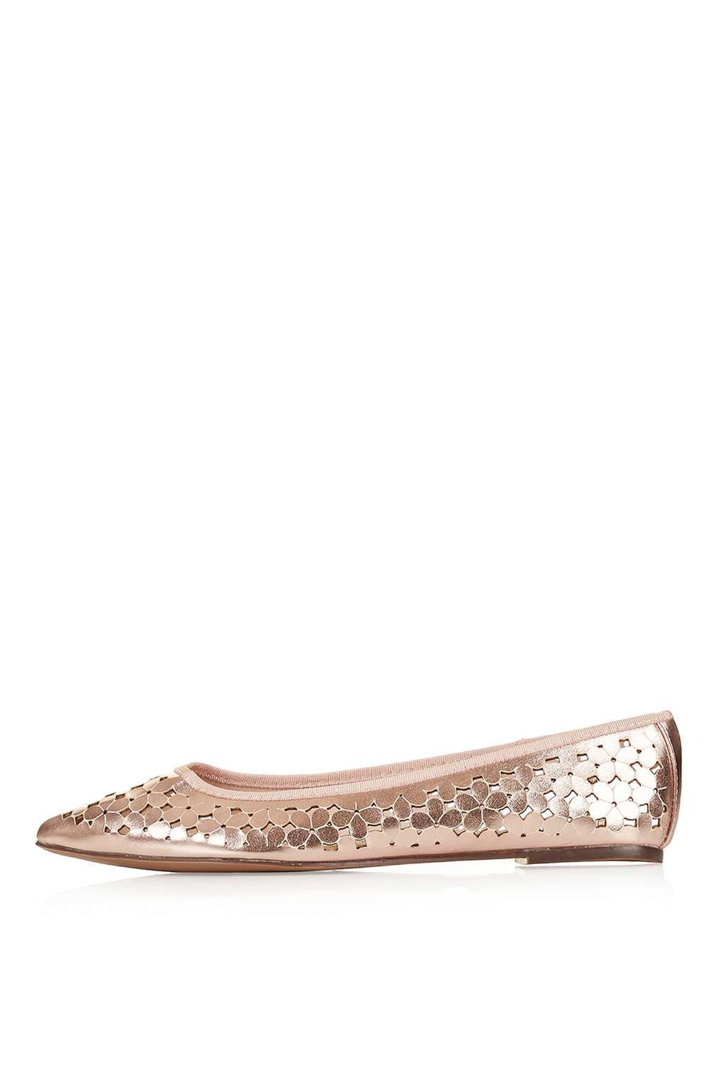 Top Shop VIVO Laser Cut Floral Pump