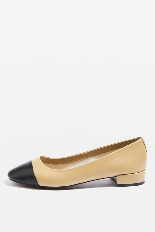 Topshop Annabel toe cap mid shoes