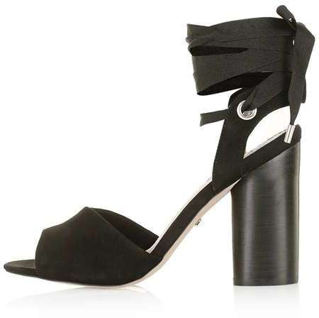 Topshop Royal ankle-tie high sandals