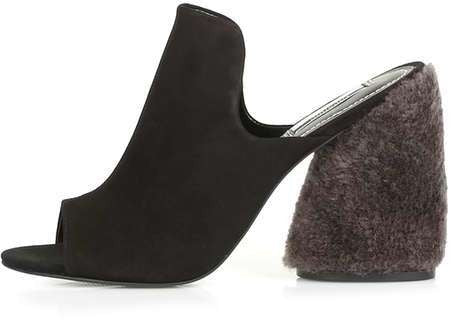 Topshop Persia limited edition high shearling mules