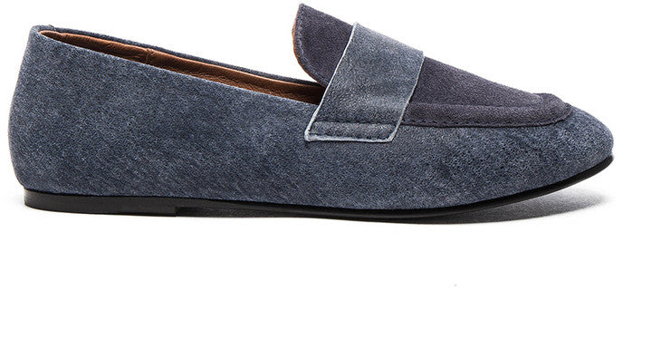 Forward By Elyse Walker Newbark Claude Suede Loafers