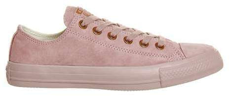 Converse **all star low leather trainers