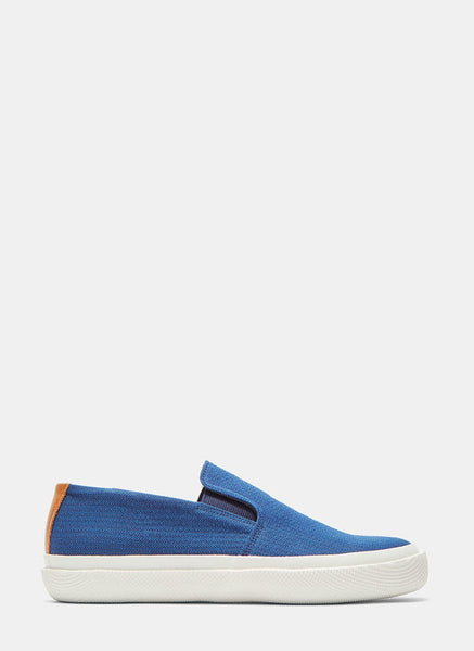 LN-CC Spingle Move W Men's Woven Slip-On Sneakers in Blue