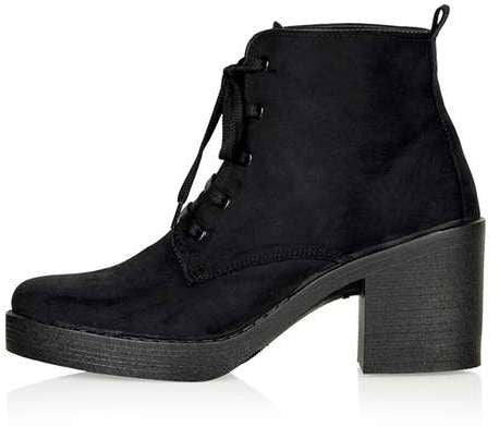 Topshop Best beaumont lace-up boots