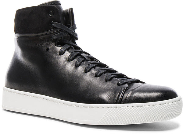 Forward By Elyse Walker JOHN ELLIOTT Leather High Top Sneakers