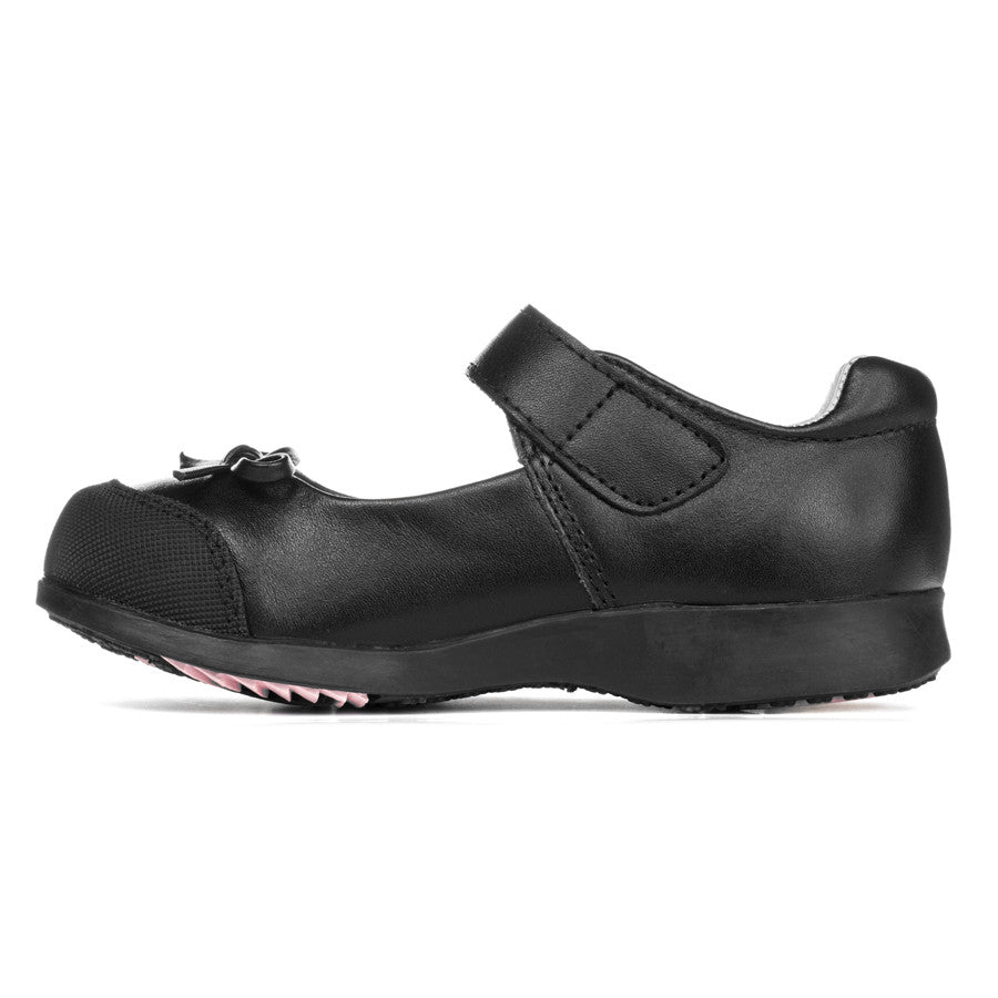 becky black shoes pediped