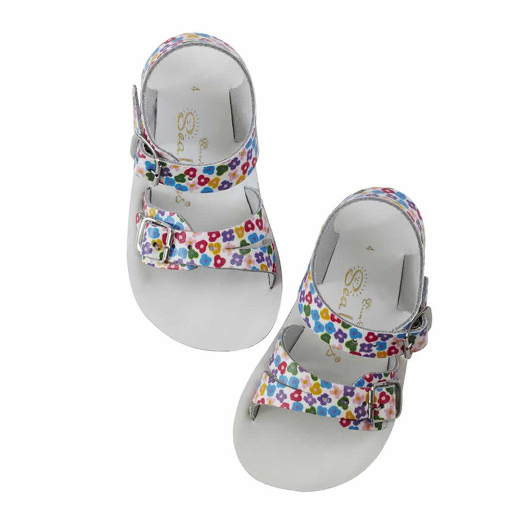 dfbf87335bd09a Sun-San Saltwater Sea Wee Floral - Ryker Kids Shoes
