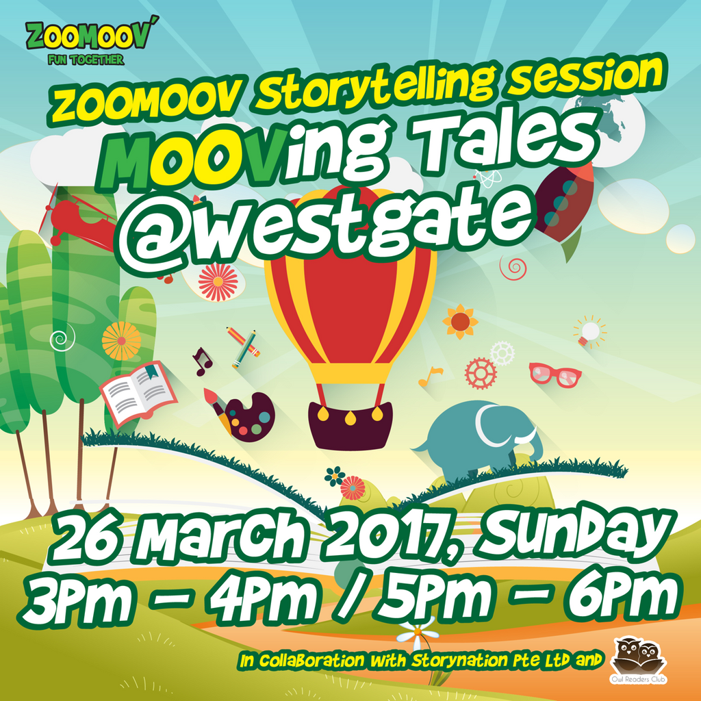 ZOOMOOV Moving Tales - 26 March @ Westgate