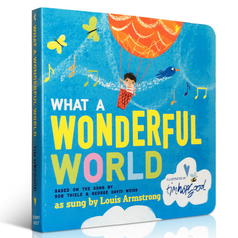 What a Wonderful World - owlreadersclub