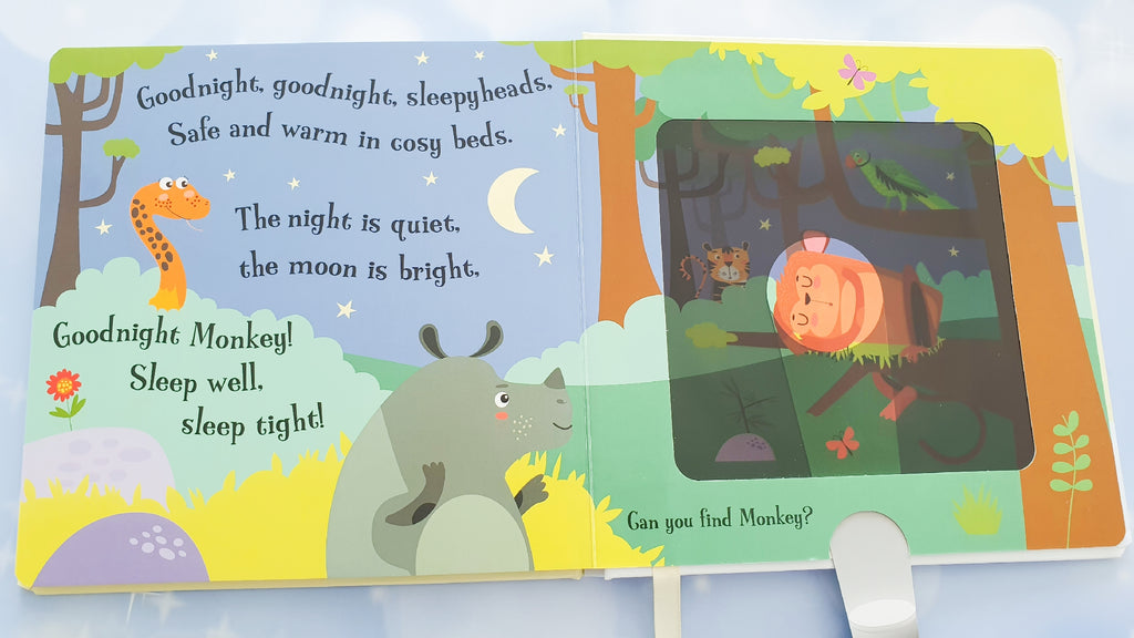 Goodnight Monkey - A magic torch book