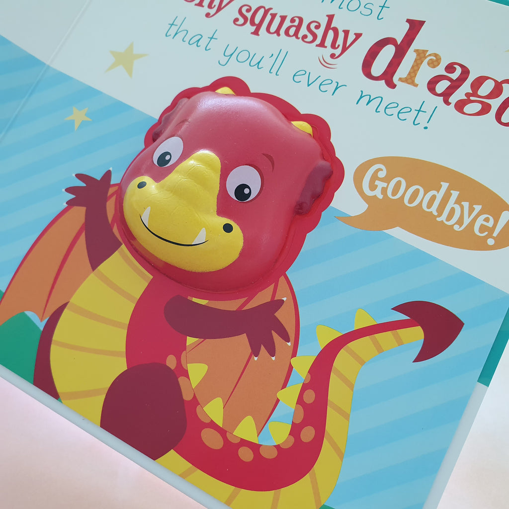 There's a squishy dragon in my book!