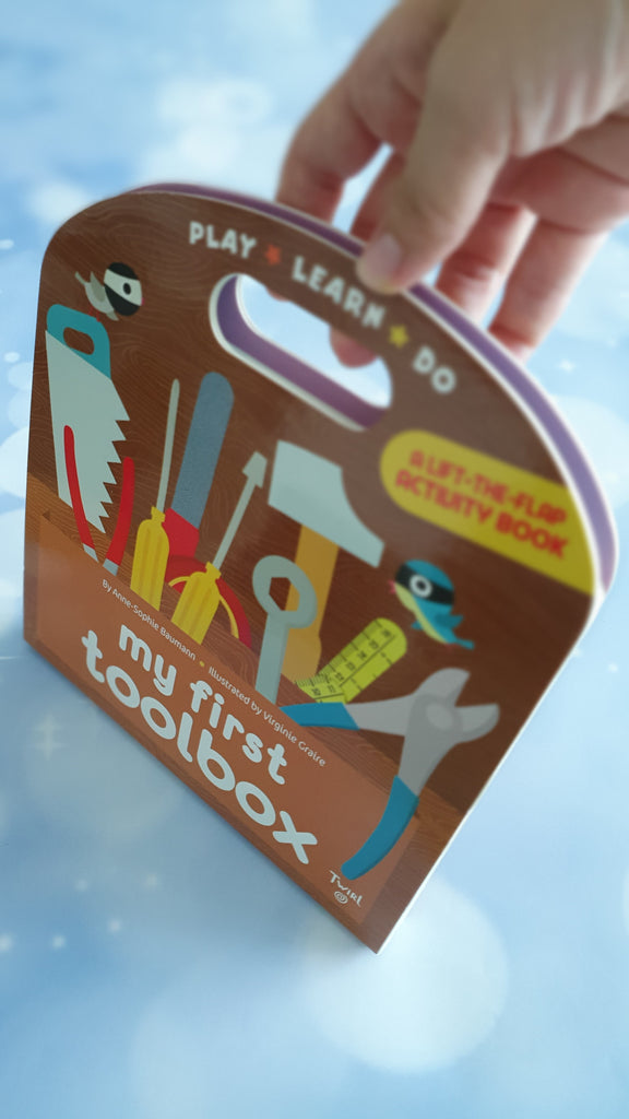 My First Toolbox : A lift-the-flap activity book