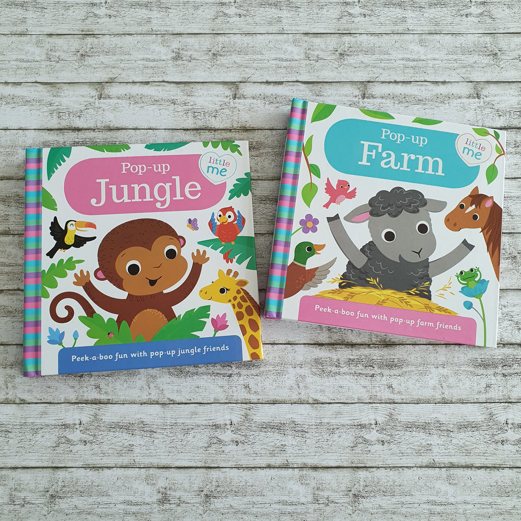 Pop-Up Farm and Jungle Duo Bundle Set