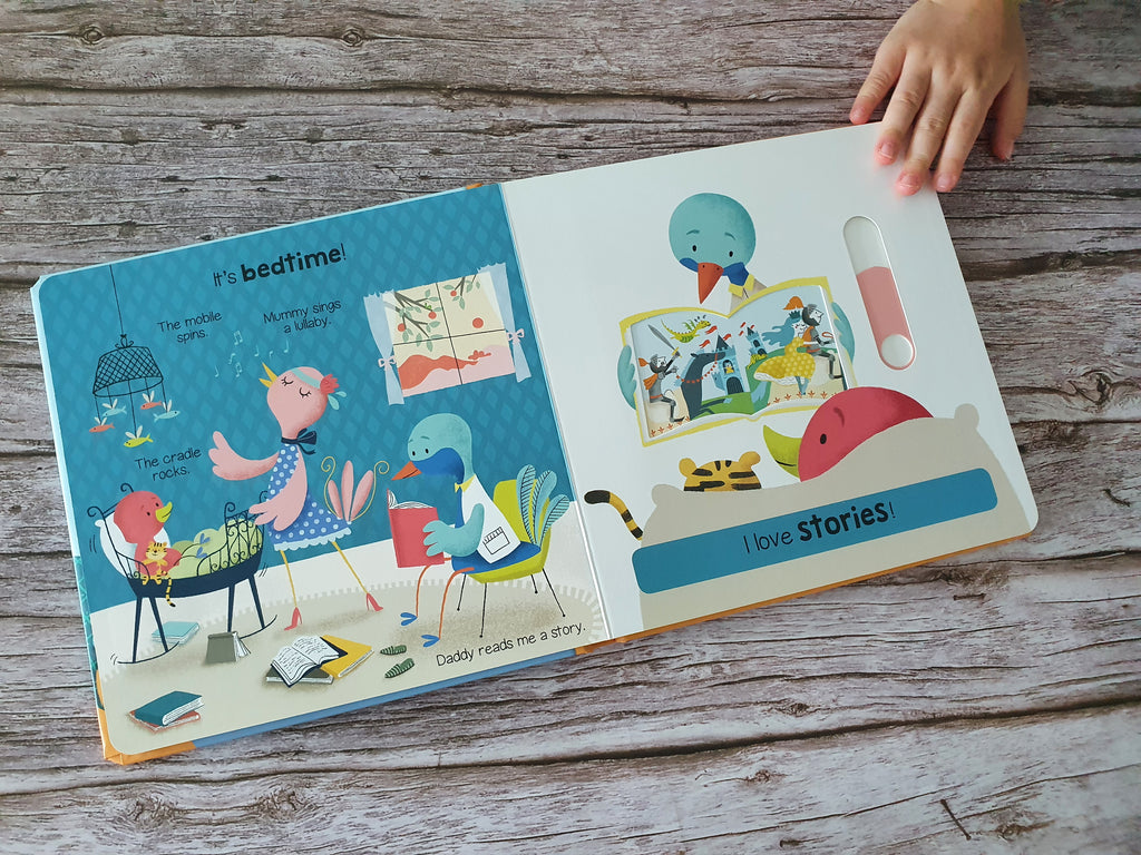 Bedtime: My First Animated Board Book