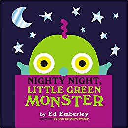 Nighty Night, Little Green Monster - owlreadersclub