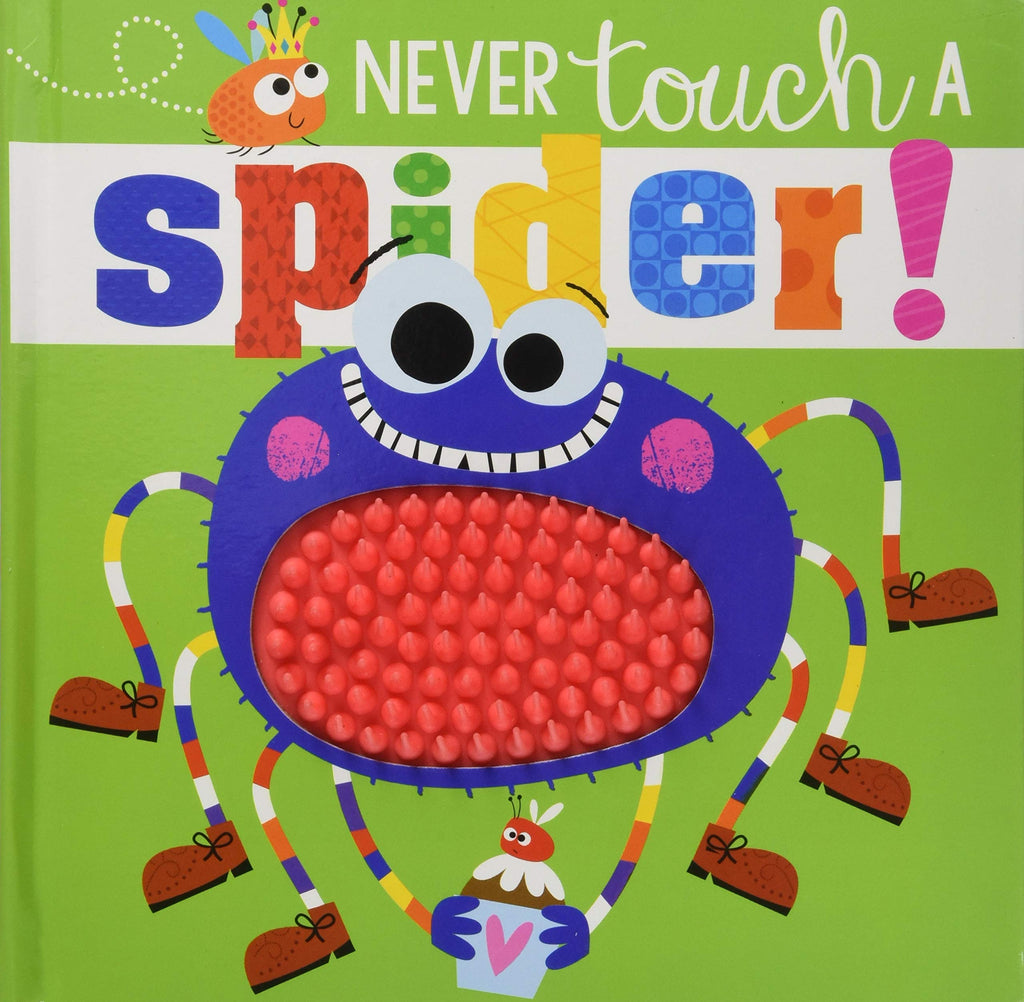 Never Touch a Spider! - owlreadersclub