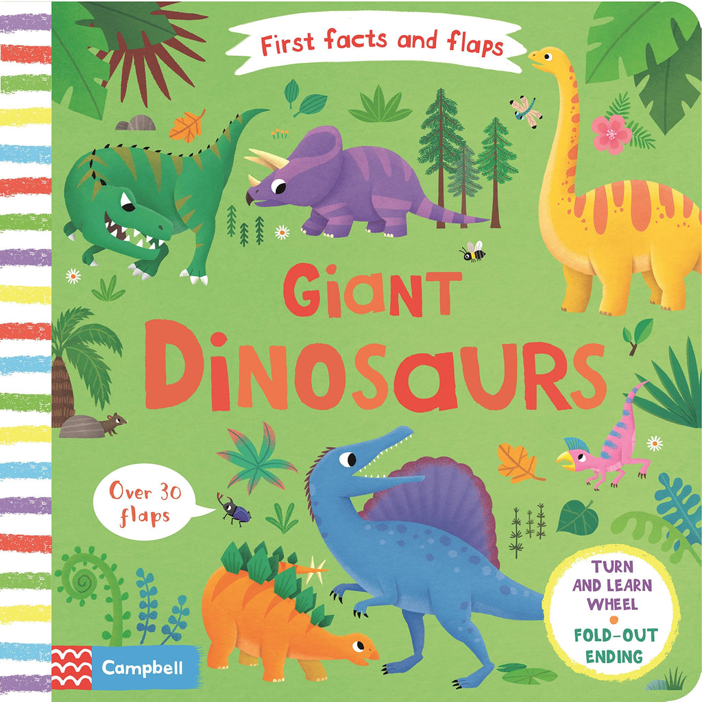 Giant Dinosaurs - First Facts and Flaps