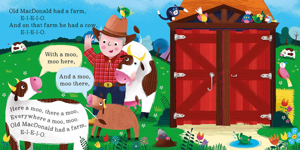 Peek and Play Rhymes - Old MacDonald Had a Farm - owlreadersclub