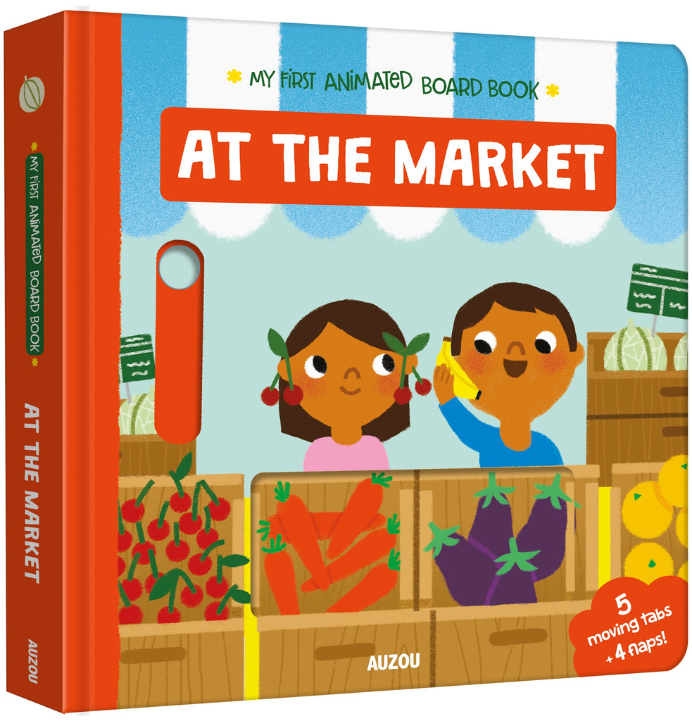 At The Market : My First Animated Board Book - owlreadersclub