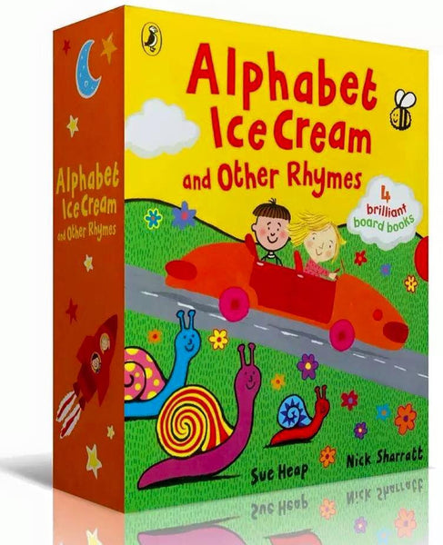 Alphabet Ice Cream and Other Rhymes - RESTOCKED!