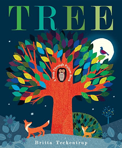 Tree: A Peek-Through Picture Book - owlreadersclub