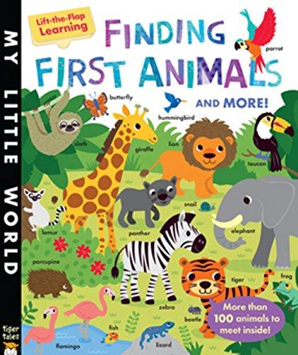 Finding First Animals - Lift-the-Flap Learning - RESTOCKED