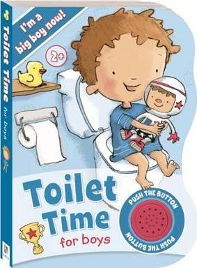 Toilet Time for Boys Sound Book - Ready to Go!