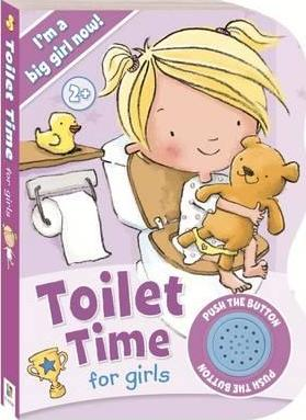 Toilet Time for Girls Sound Book - Ready to Go!