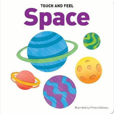 Touch & Feel Board Book Space - owlreadersclub