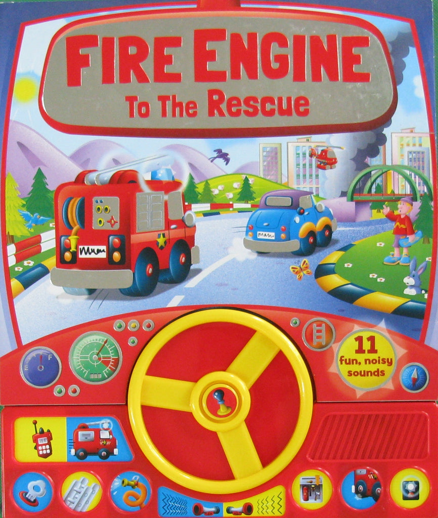 Fire Engine to the Rescue - owlreadersclub