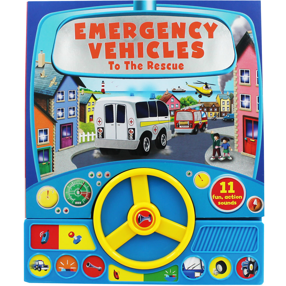 Emergency Vehicles to the Rescue - owlreadersclub