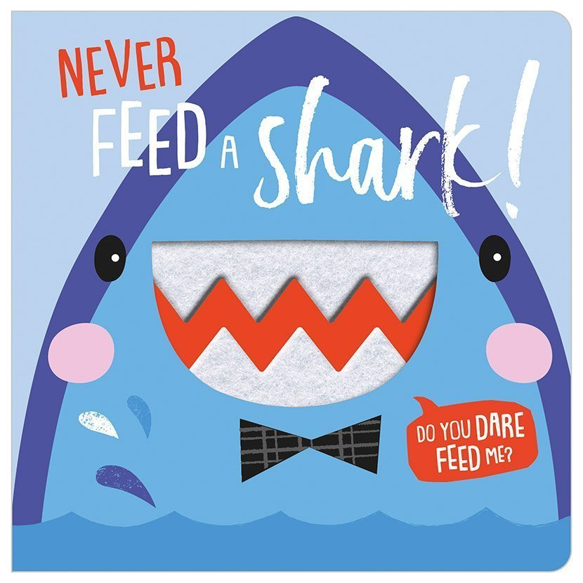 Never Feed A Shark - owlreadersclub