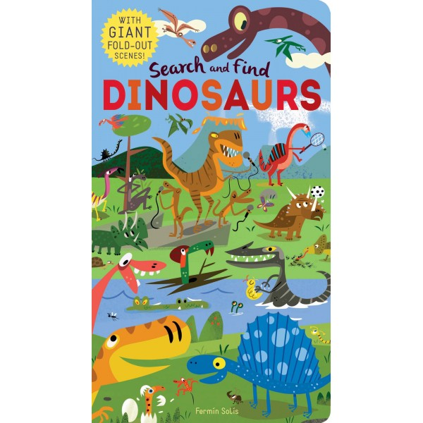 Search and find Dinosaurs - owlreadersclub