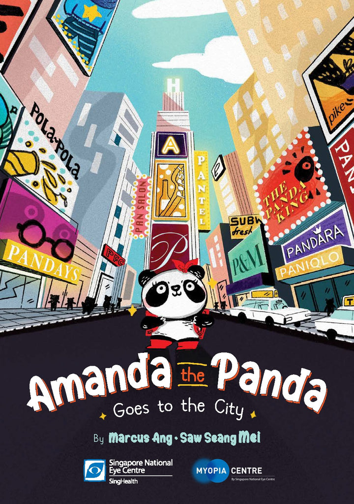 Amanda the Panda Goes to the City